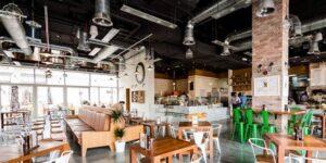монтаж вентиляции в ресторане